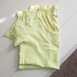****SOLD****Jcrew Neon Yellow T-Shirt